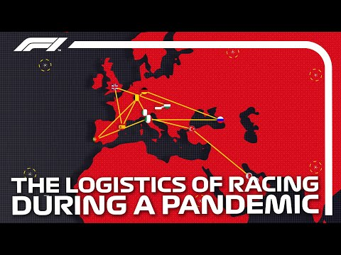 The race behind the race: F1 Logistics from Mexico to the