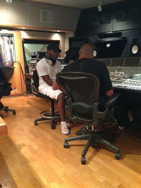 Jon Connor in the Studio With Dr