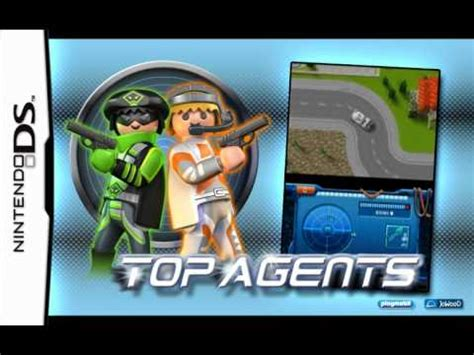 PlayMobil Top Agents Nintendo Game Trailer - YouTube