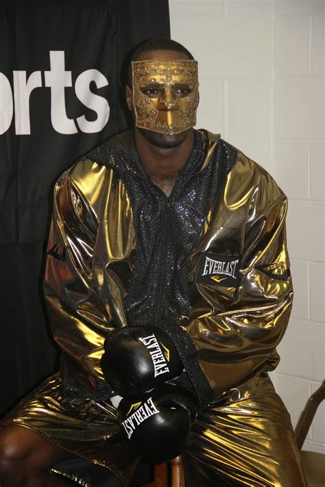 """Deontay Wilder """"The Bronze Bomber"""": Just about to walk out"""