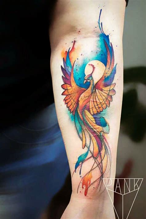 33 Amazing Phoenix Tattoo Ideas With Greater Meaning