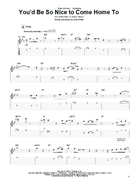 You'd Be So Nice To Come Home To | Sheet Music Direct